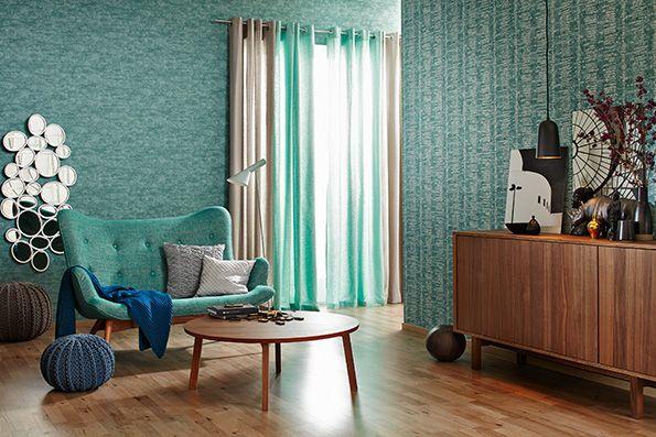 Raumbild 4 der Tapetenkollektion Schöner Wohnen 7 von der AS - schöner wohnen tapeten wohnzimmer