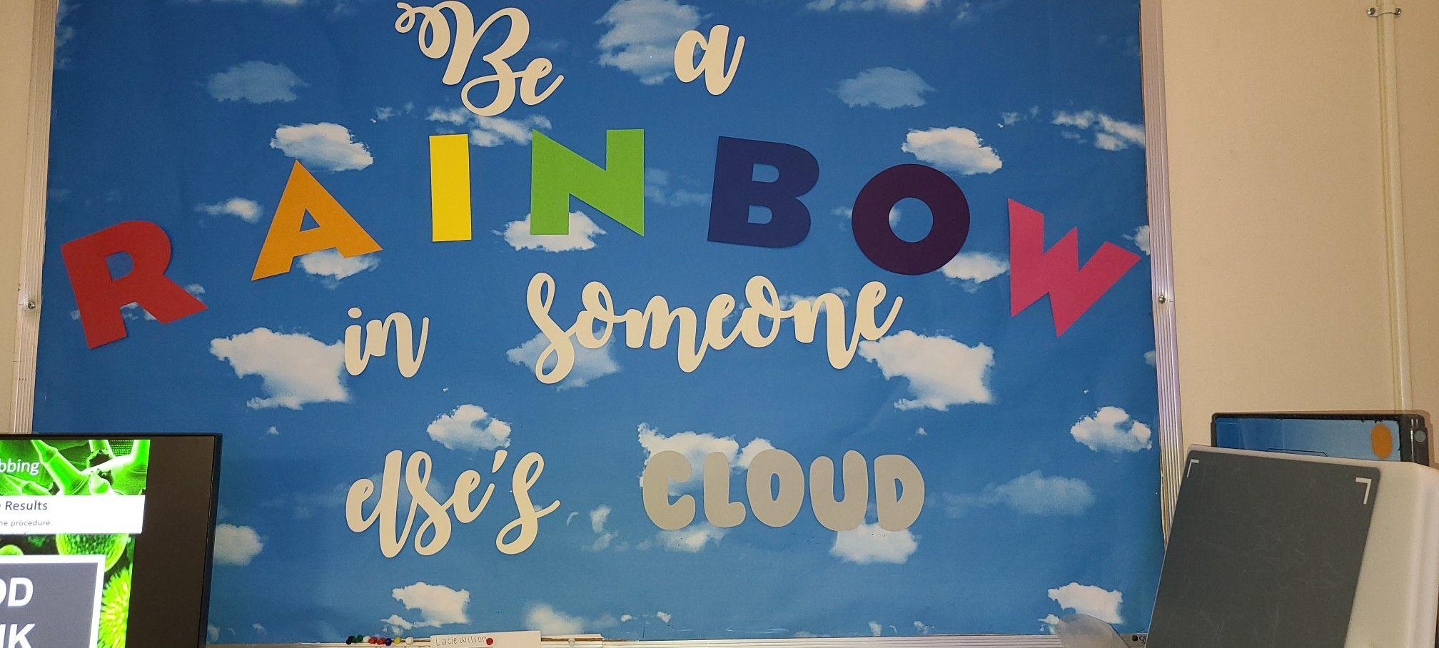 Maya Angelou- rainbow