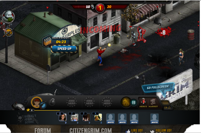 Zynga teaming up with Eruptive Games for Citizen Grim