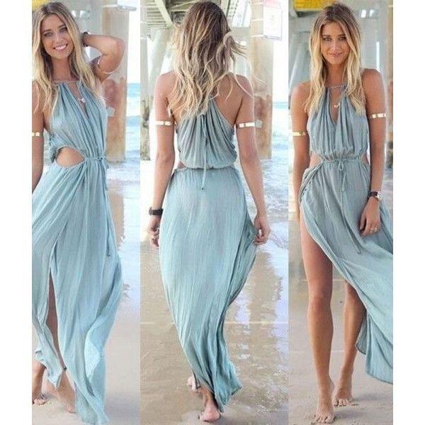 Transparent Beach Dress