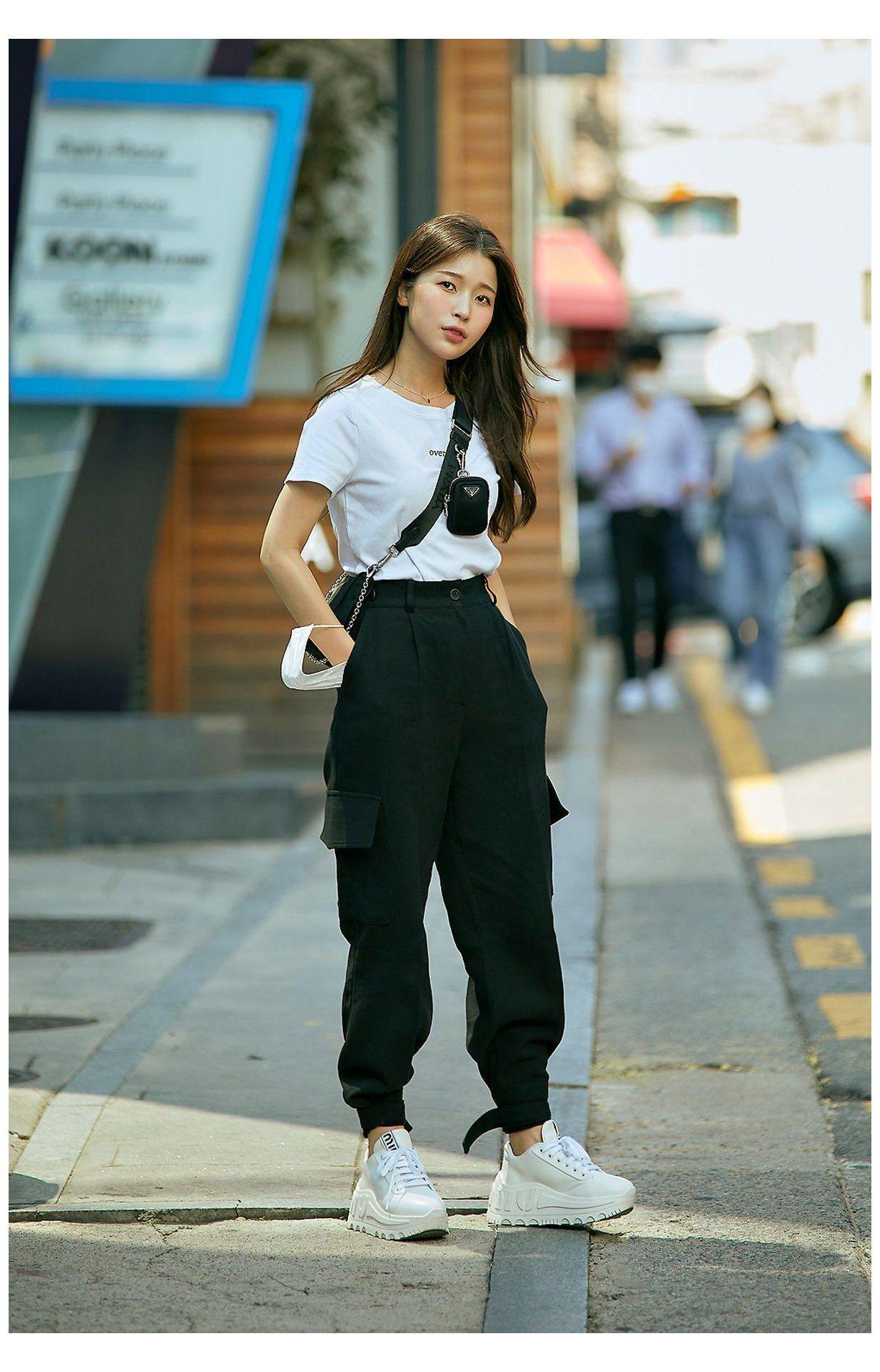 korean street fashion Street fashion Women's Style