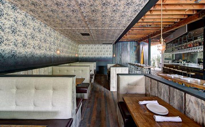 single booth design | Interiors | Pinterest | Restaurants ...