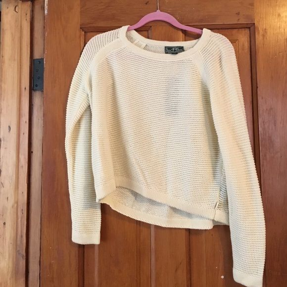 Lauren Active Ralph Lauren sweater new with tags! size medium fits like a crop top almost but if you're a small it'll fit like a regular sweater Ralph Lauren Sweaters Crew & Scoop Necks