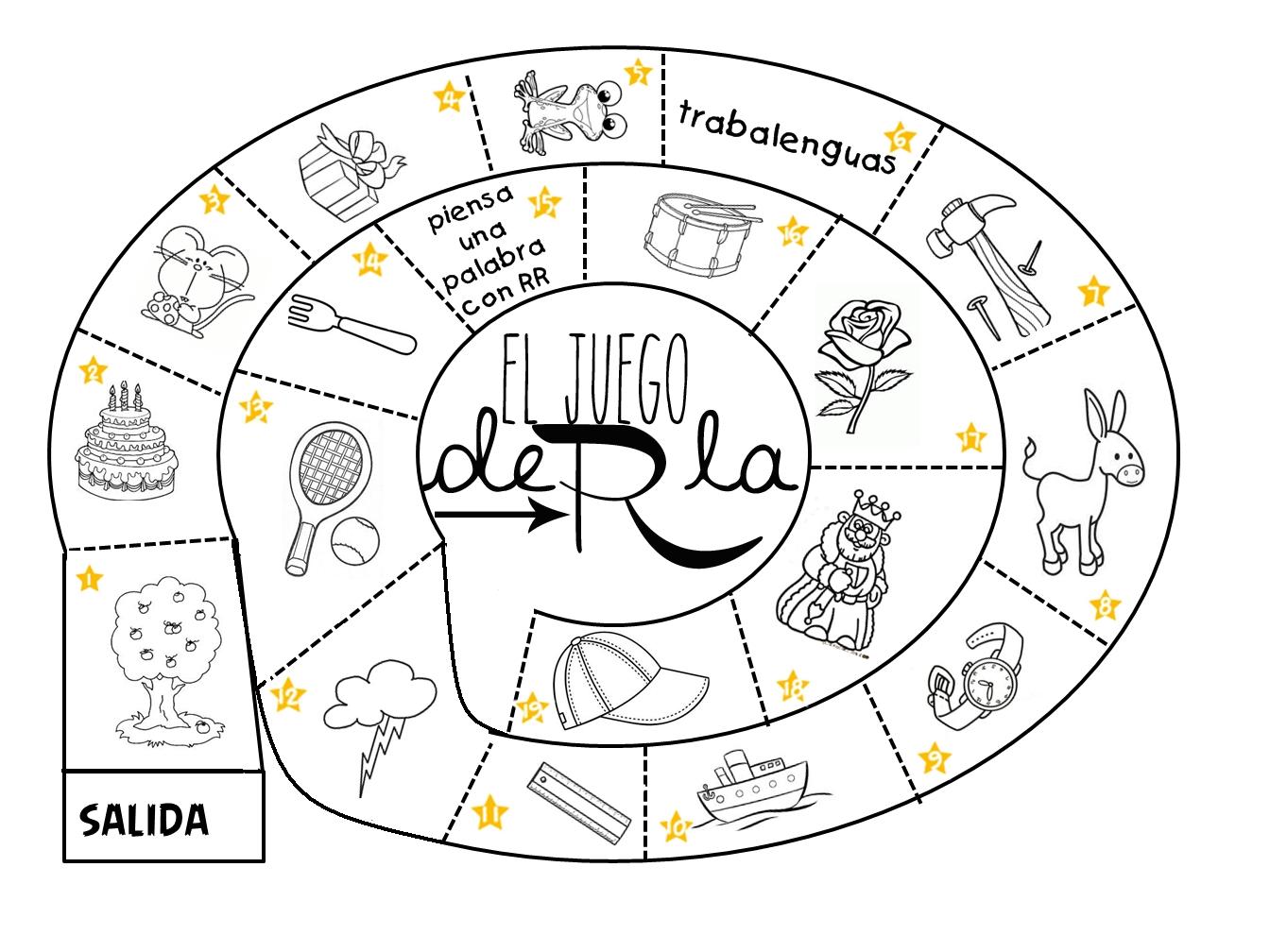 Logopedia Dinamica Y Divertida El Juego De La Rr Didactico