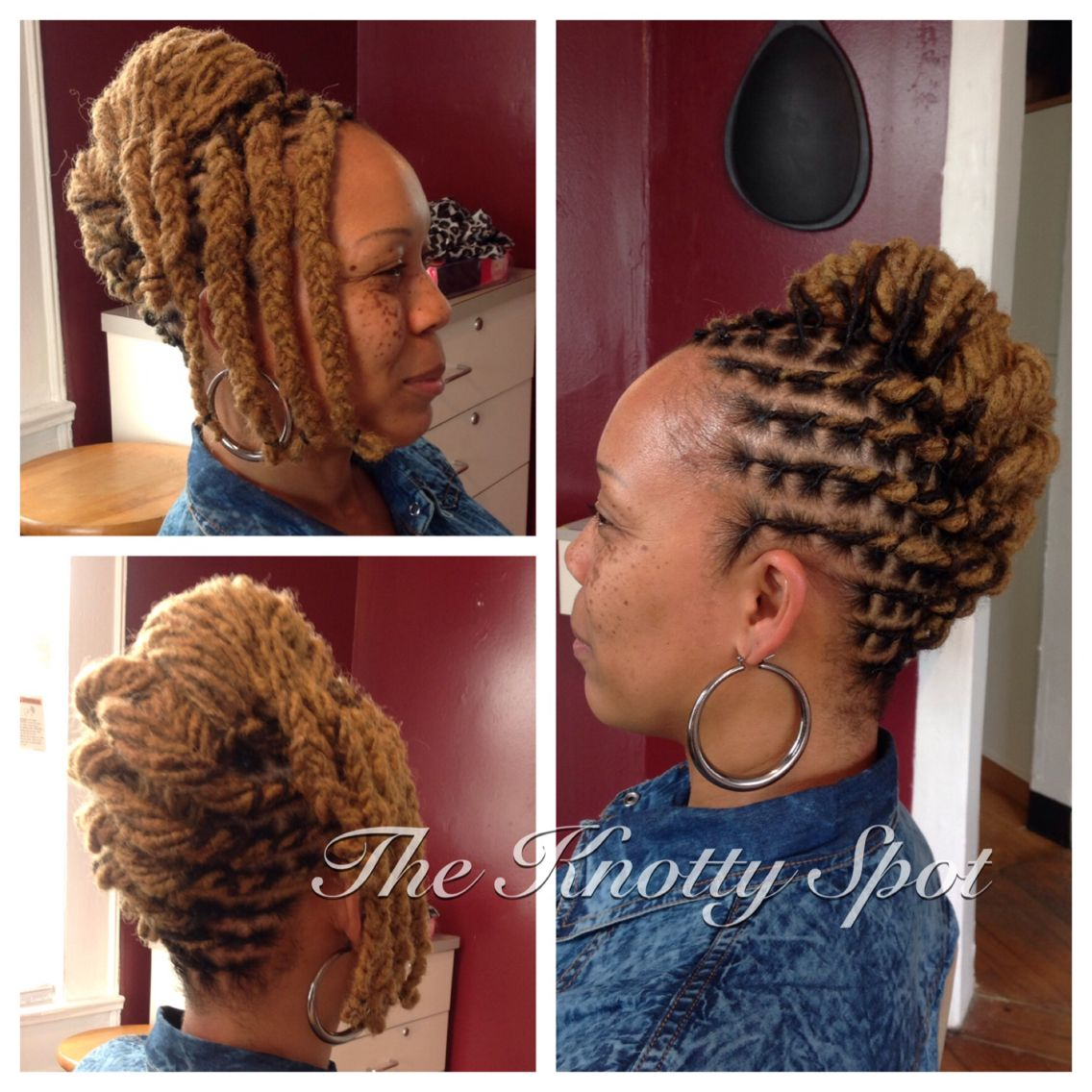 Loc Updo Hairstyles Loc Style Call 8032371894 Or Book A Consultation Online At