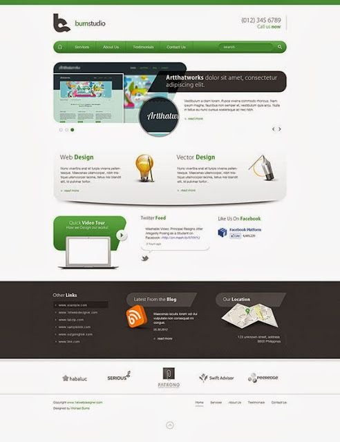 10 Easy To Follow Psd To Html Css Tutorials Web Design Tutorials Web Design Css Tutorial