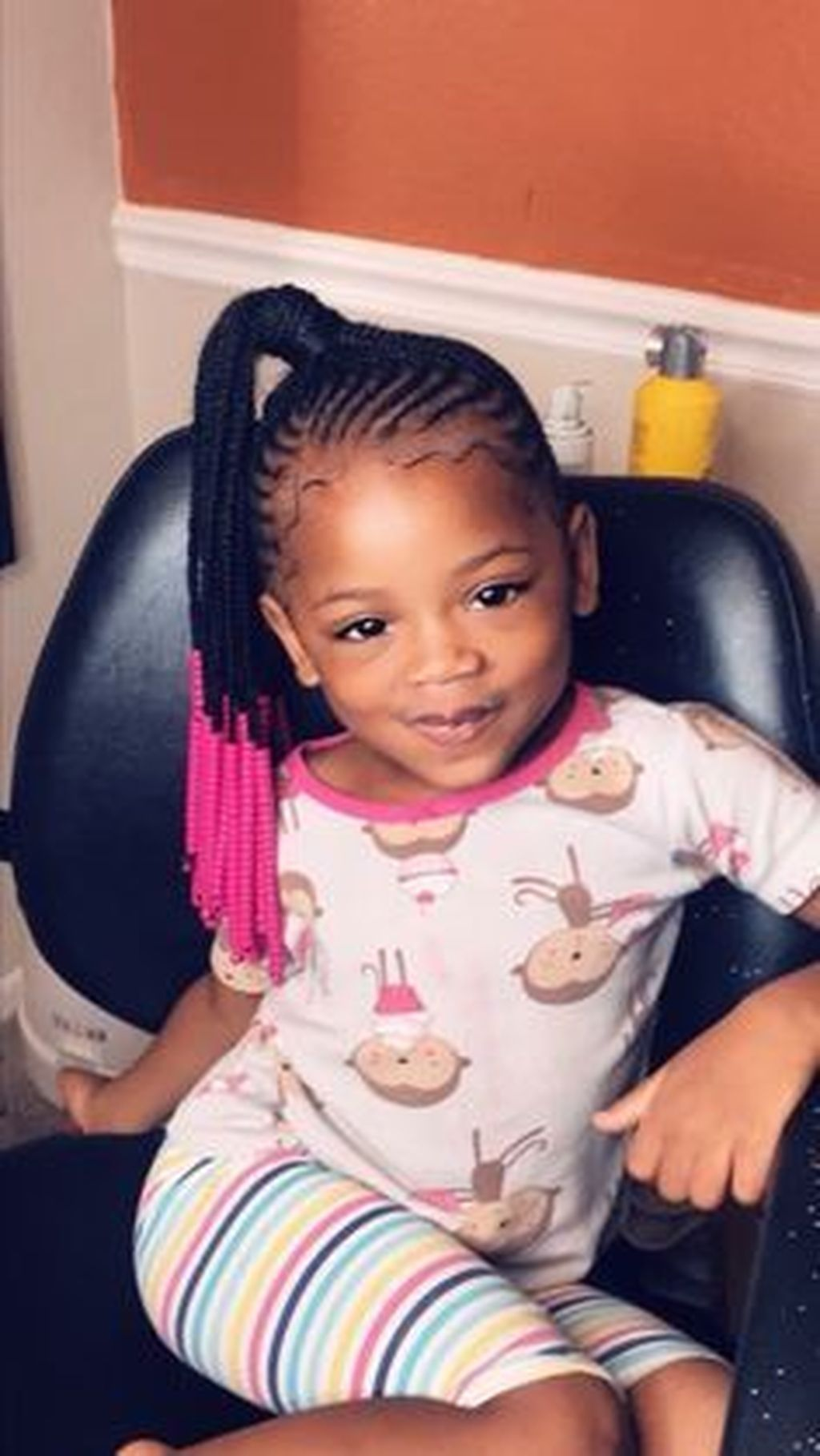 Cool 30 Charming Kids Braided Hairstyle Ideas With Beads Black