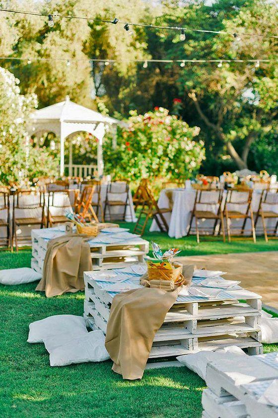 Summer Outdoor Picnic Wedding Ideas Http Www Deerpearlflowers