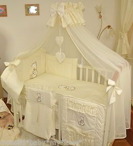 Luxury Canopy Drape Mosquito Net Free Standing Holder For Baby Cot Or Cot Bed Baby Bedding Sets Baby Cot Cot Bedding