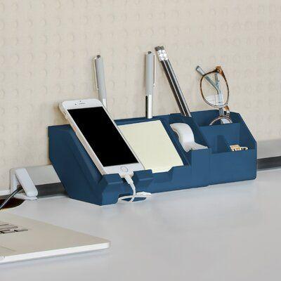 Symple Stuff Roseanne Connect Desk Organizer Set Desk Organizer