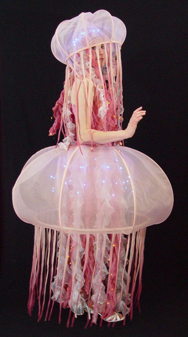jellyfish halloween costume belle de la mer side lit. Black Bedroom Furniture Sets. Home Design Ideas
