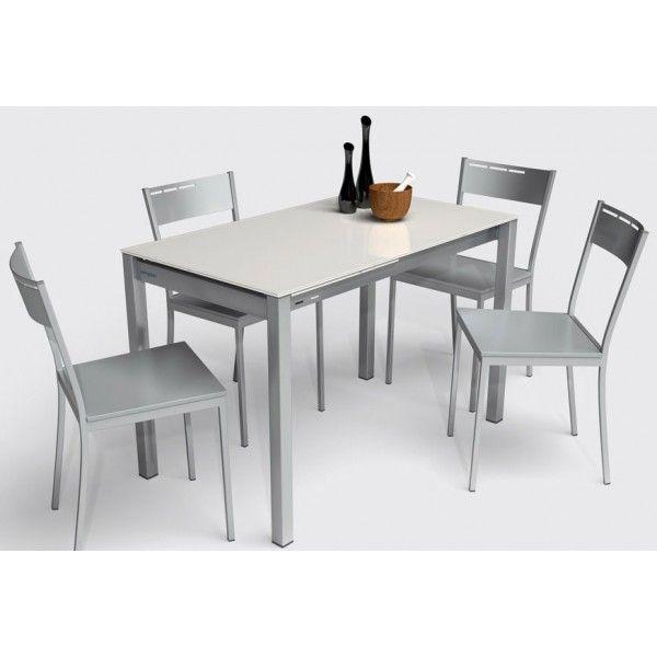 conjunto de mesa y sillas de cocina, un diseño y elegante para una ...