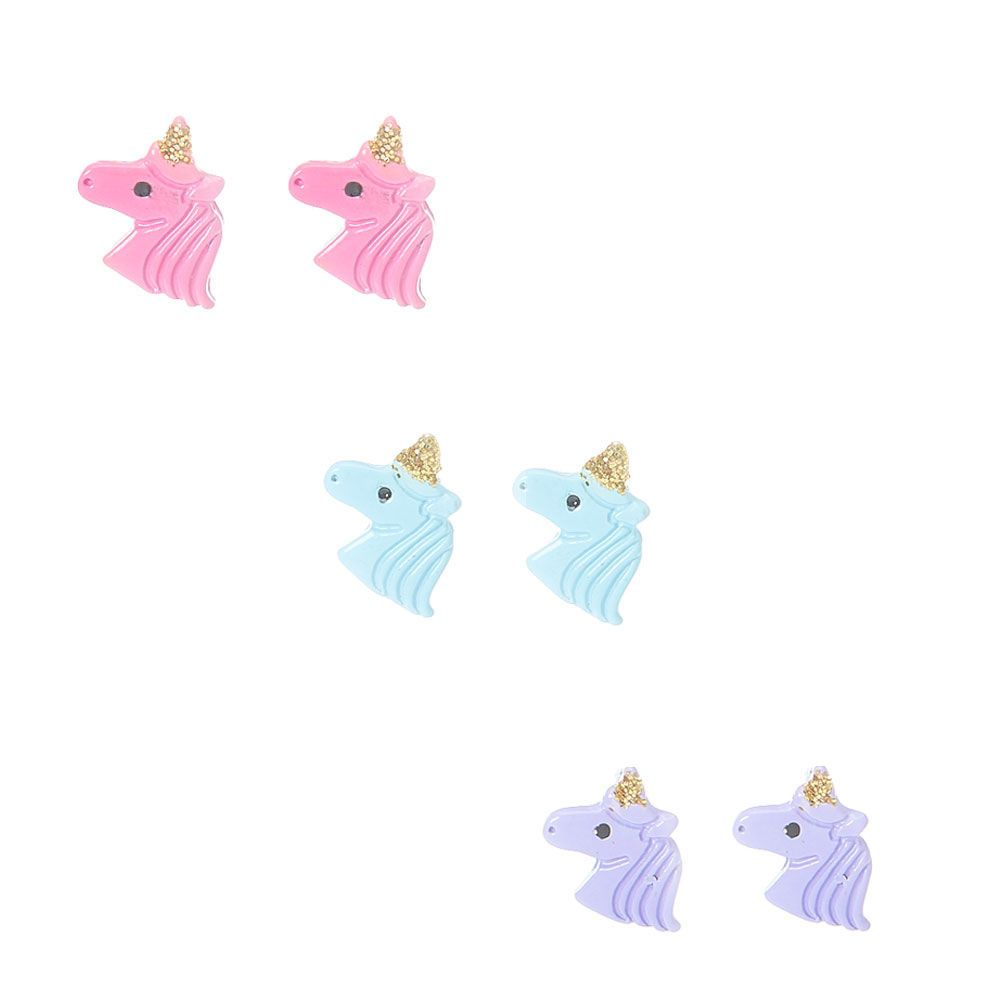 1350480ad Claire's Pastel Unicorn Stud Earrings - 3 Pack in 2019 | Products ...