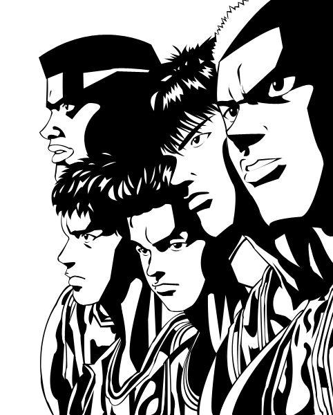 Manga Anime List Slam Dunk Interhigh: Shohoku By Kgambas.deviantart.com On @deviantART