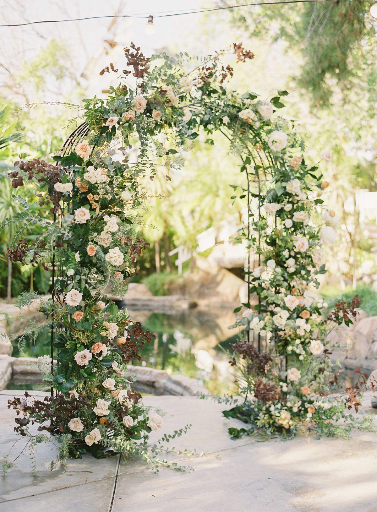 Classic vintage wedding inspiration at las palmas vintage
