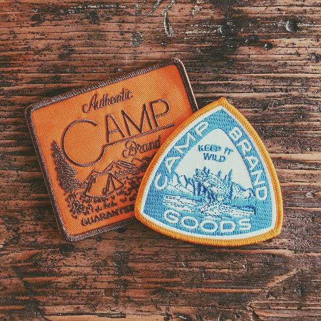 You guys ever met @joshuaminnich? He's a real wizard with the pencil and designed us up a bunch of real purdy things and we turned a couple of those into patches. Look out for these when the spring collection drops next week along with a few other pieces he designed. #joshforprez #keepitwild #campbrandgoods