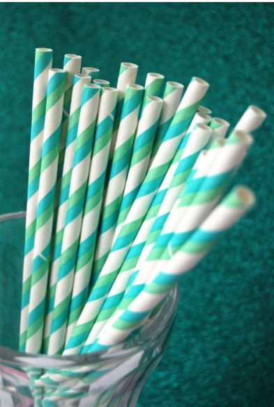 paper straw inspirations