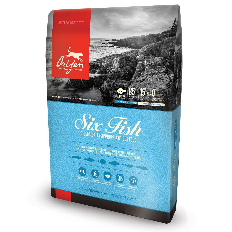Orijen 6 Fish Dry Dog Food Bag 12 Oz Wish To Know Extra Click