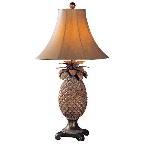 Uttermost anana pineapple table lamp style 52674 pineapple uttermost anana pineapple table lamp aloadofball Gallery
