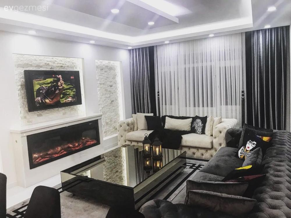 Komple Yenilenen Bu Dubleks Ev Şimdi Tam Kıvamını Bulmuş Oturma Odası