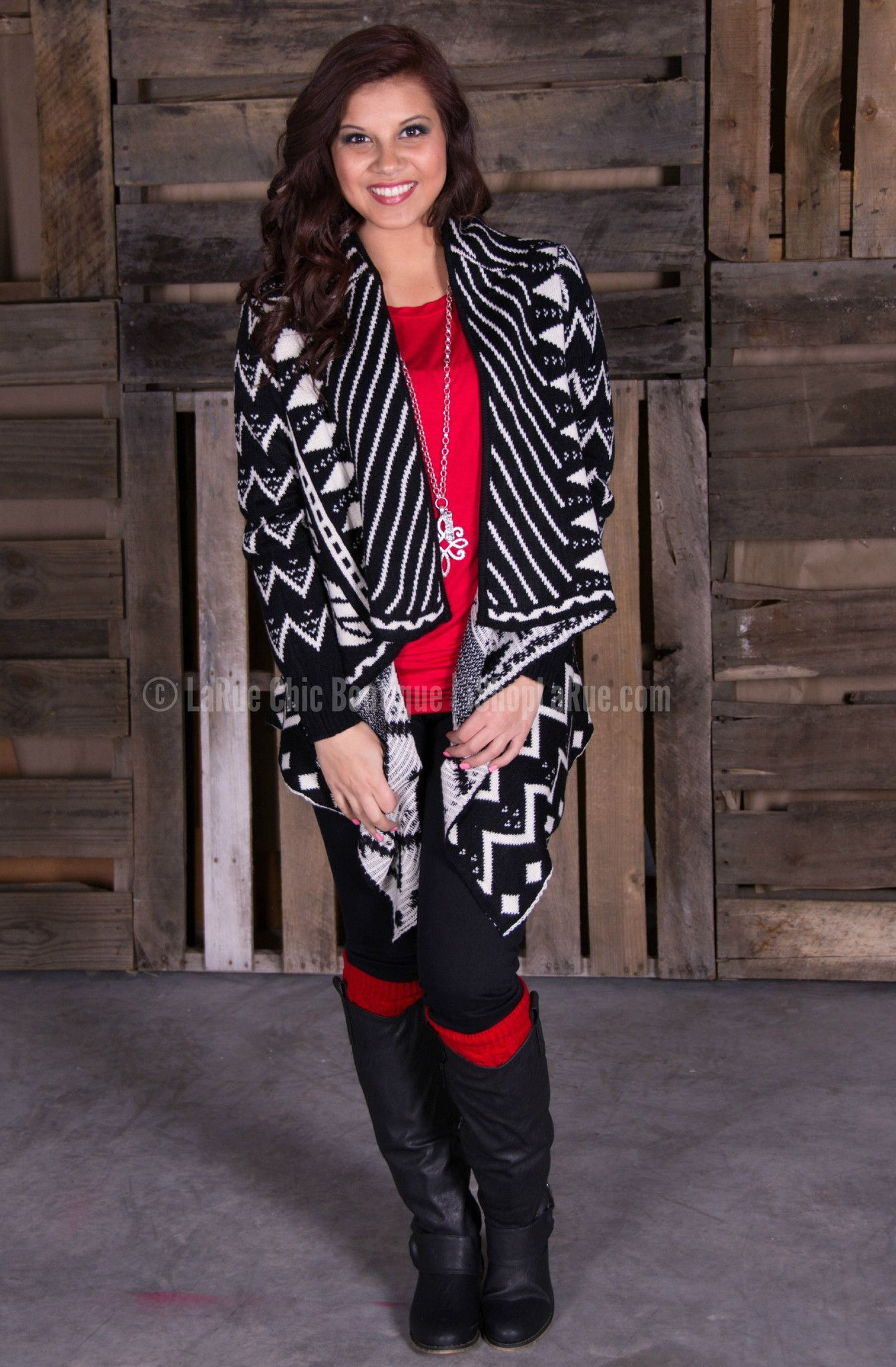 TANTALIZING TRIBAL CARDIGAN