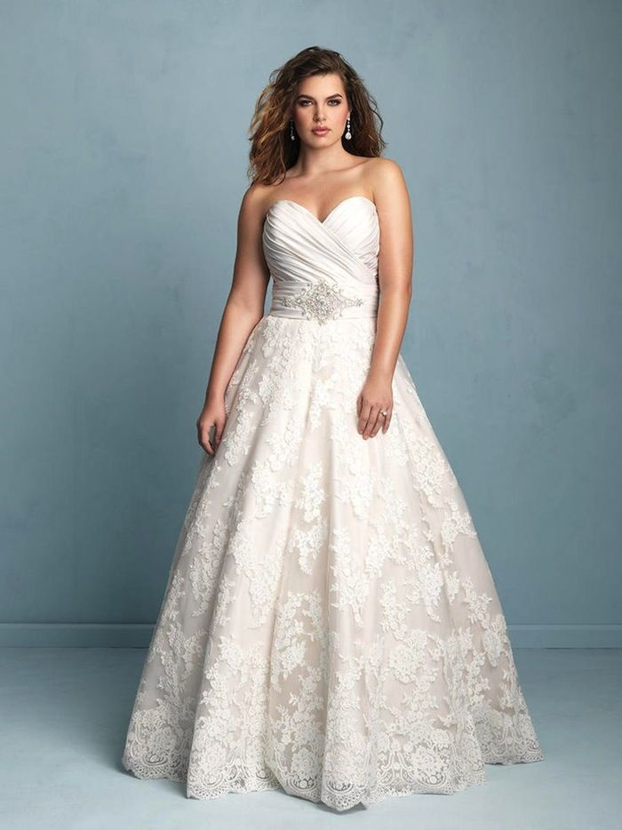 Plus Size Wedding Dresses: A Simple Guide | Wedding dress, Weddings ...