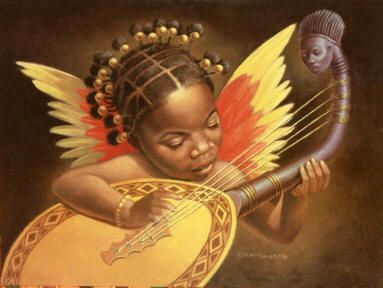afro american cupid
