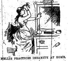 Stunt Journalism Mad | Nellie bly, Bly, Asylum
