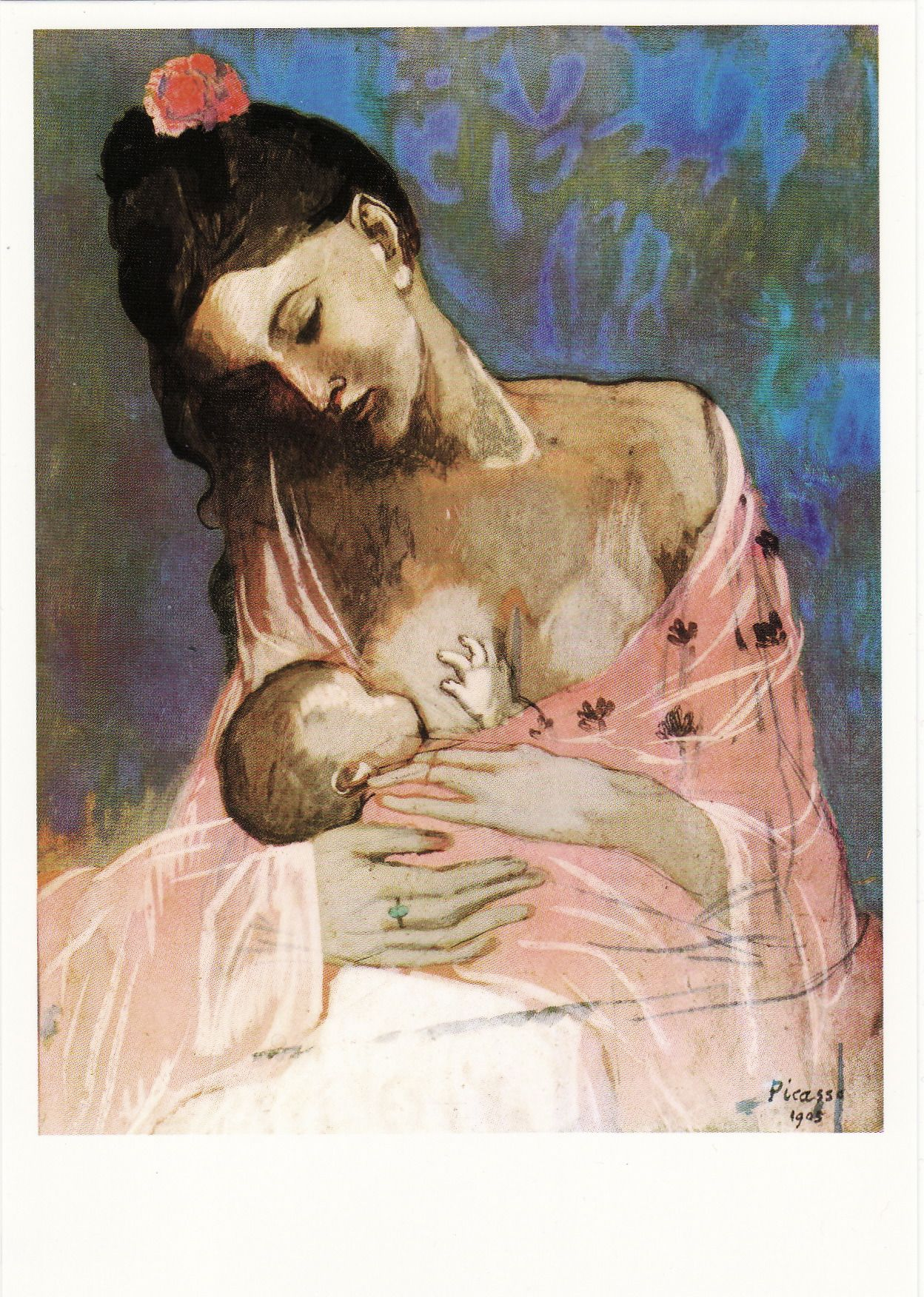 Pablo Picasso - Maternité - Maternity, 1905 | Mother and Child ...
