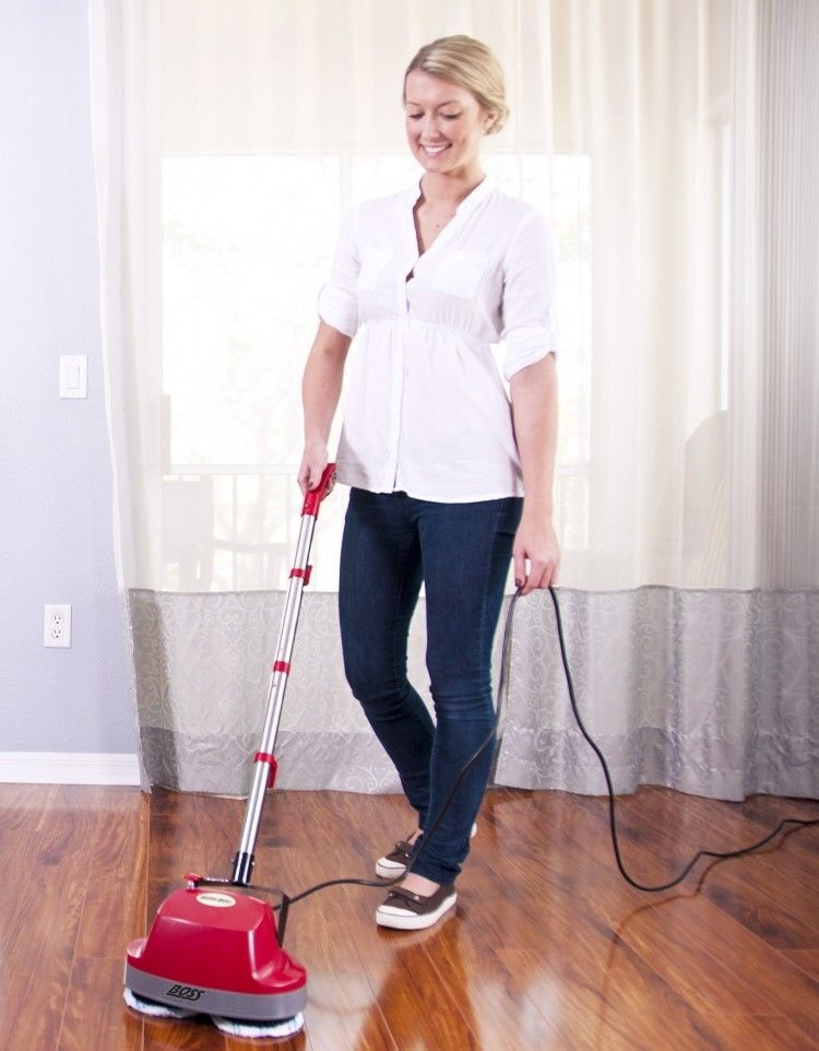 Floor Buffer Machine Wax Polisher Cleaner Mop Electric Tile Hard