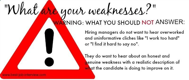 what are your strengths is a common job interview question and