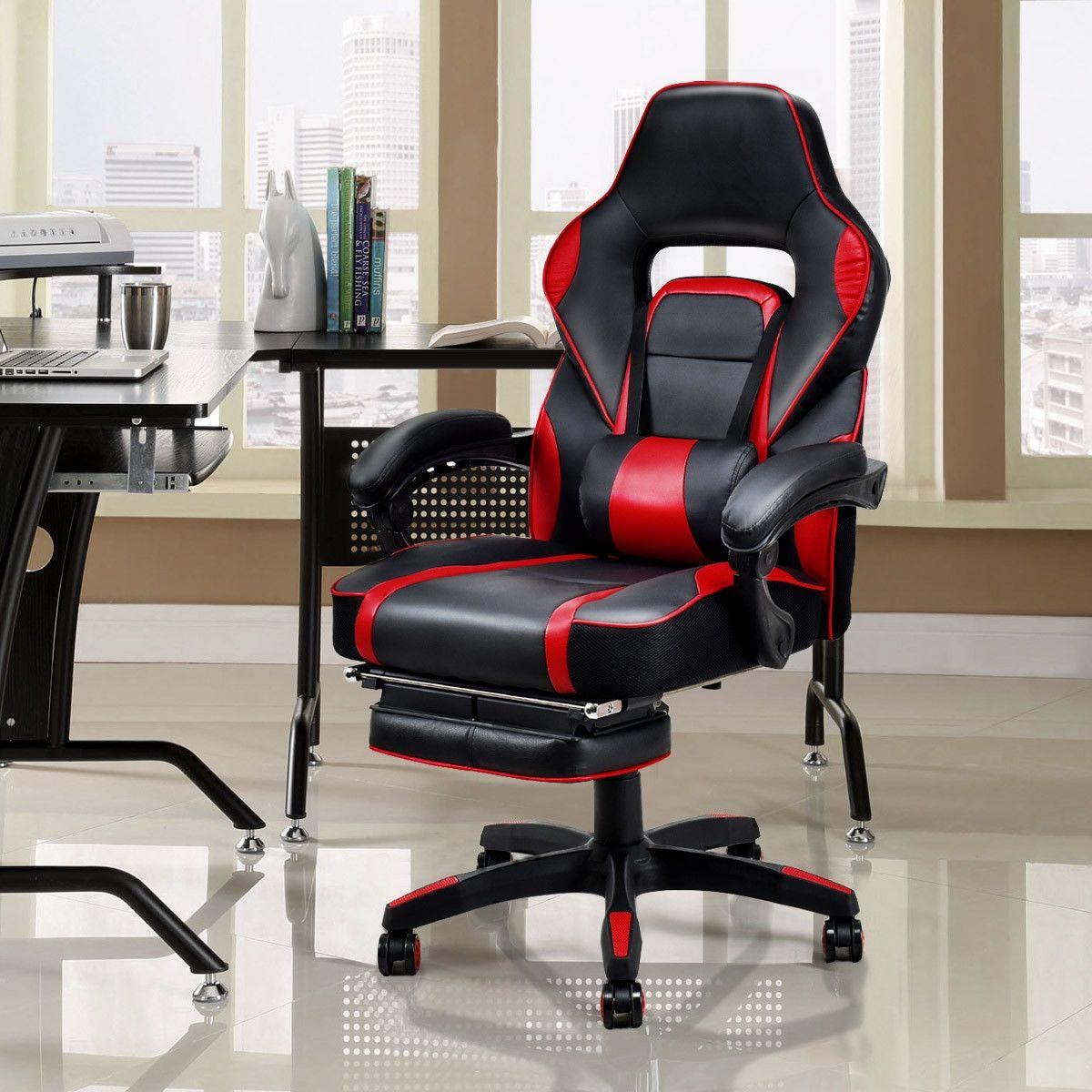 Ergonomic High Back Racing Gaming Chair Swivel Computer