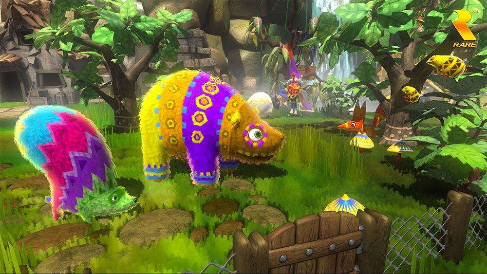 Beat The January Blues 8 Of The Happiest Games On Xbox One Xbox One Pinata Xbox One Games