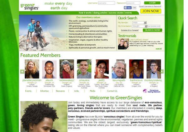 Www greensingles com