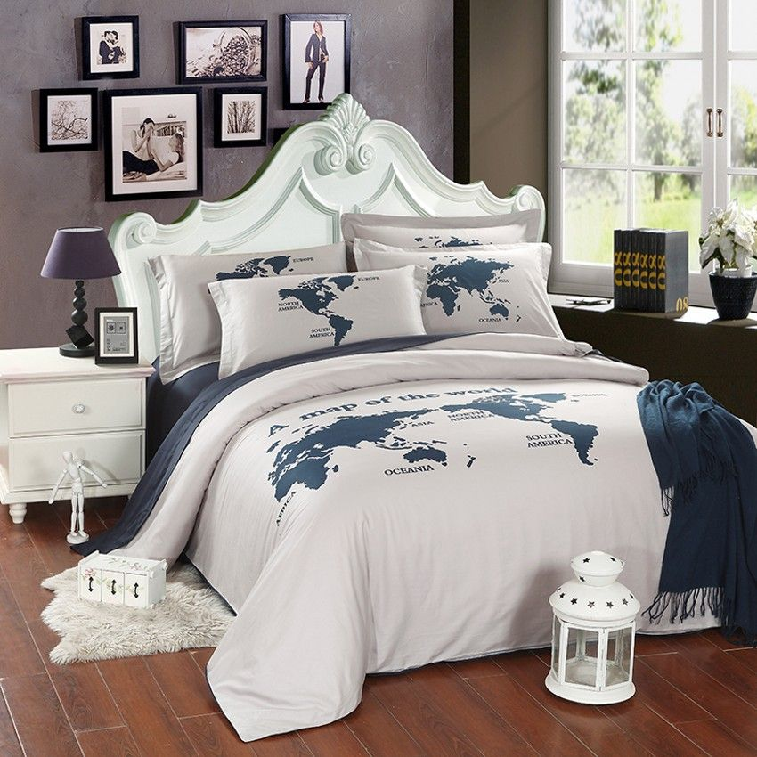 Comforter with world map google search my beds pinterest comforter with world map google search gumiabroncs Images