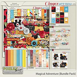 {Magical Adventure} Digital Scrapbooking Bundle by Pixelily Designs http://store.gingerscraps.net/Magical-Adventure-Bundle-Pack.html #digiscrap #digitalscrapbooking #pixelilydesigns #magicaladventure
