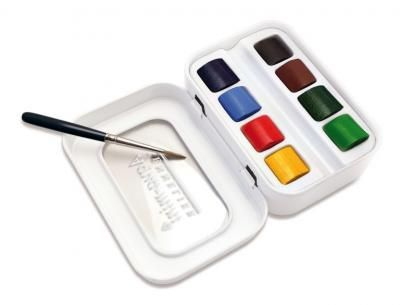 Sennelier Aqua Mini Watercolour Set Oil Painting Supplies