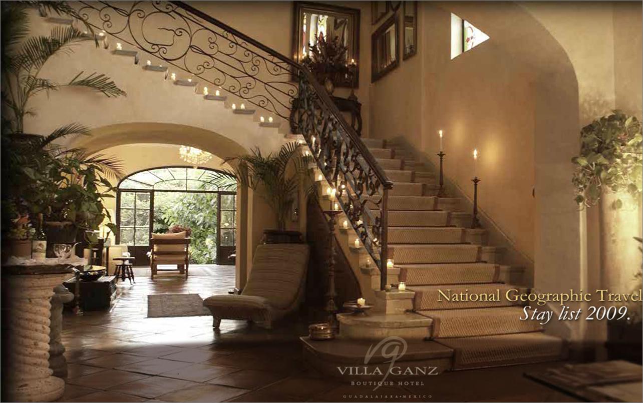 Mexican Haciendas El Hotel Boutique Villa Ganz Recibe
