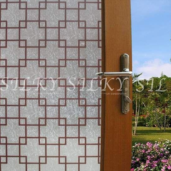 楽天市場 Ws 2049 和紙四角形文様 のりつき 1m 幅90cmステンドグラス