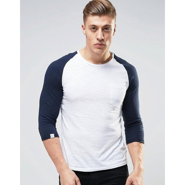 Produkt Contrast Raglan 3/4 Length Sleeve Top (£8) liked ...