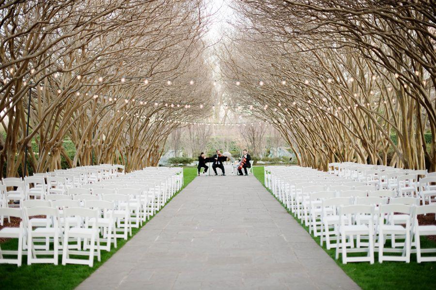 Wedding Ceremony Dallas Arboretum E Myrtle Allee Pinterest Weddings Garden And