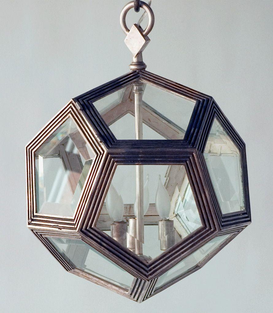 Metal Octagonal Light Fixture Octagon White Bronze
