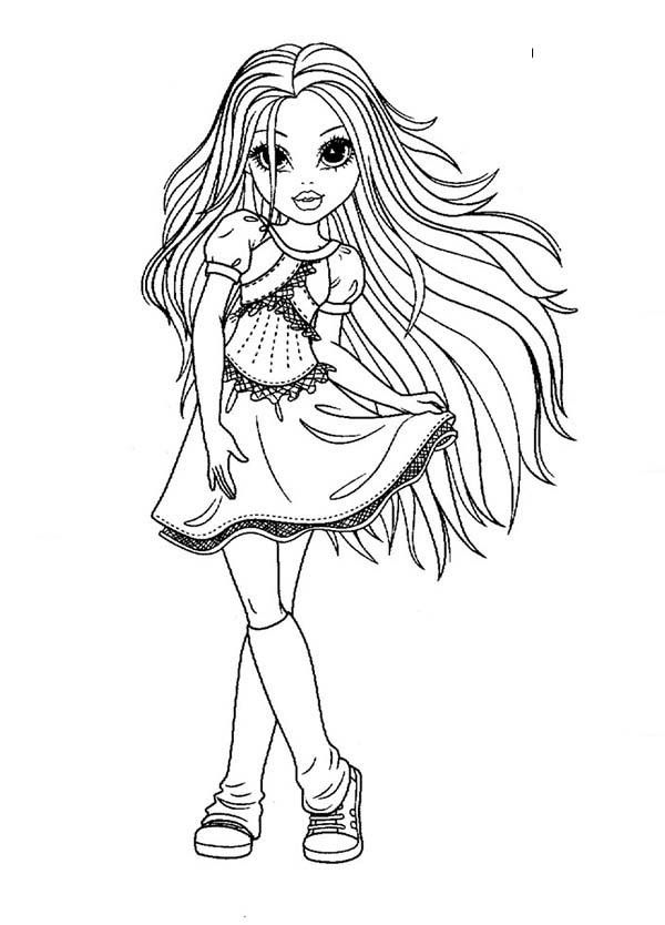 Free moxie girls coloring pages ~ Moxie Girlz, : Beautiful Girl Avery from Moxie Girlz ...