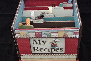 KdBuggie Boutique: { Day 3 - Organizing Recipes }