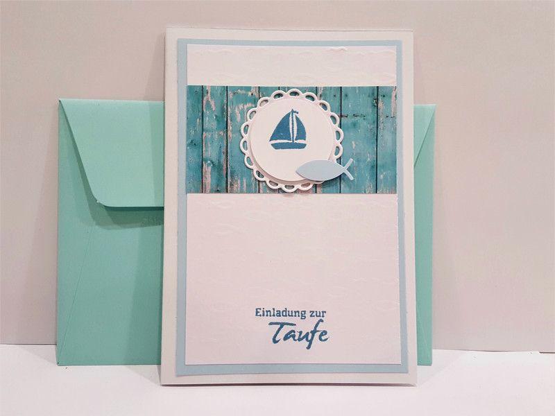 Schön Einladungskarten   Einladung Taufe Taufeinladungen 6 Taufeinladung   Ein  Designerstück Von POMMPLA Bei DaWanda