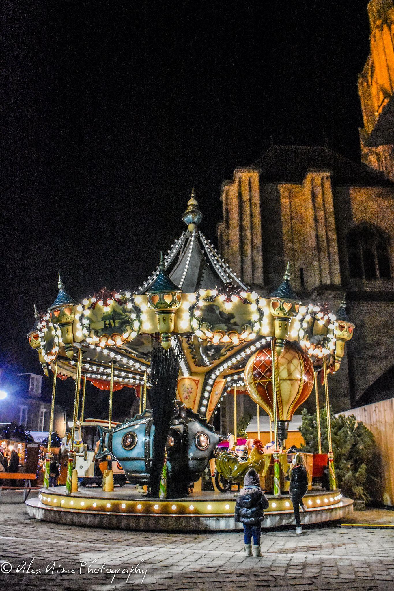 308/365 Carousel Christmas market Bourges Ville france