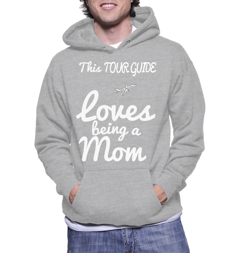 This Tour Guide Loves Being A Mom Hoodie