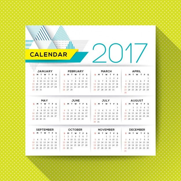 Annual Calendar Free Vector  Free Vector Graphic Eps