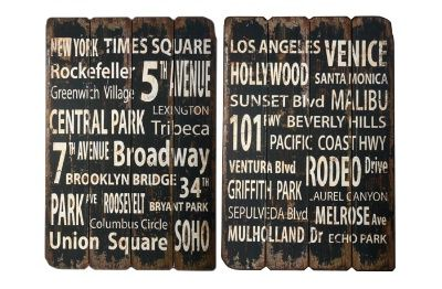 IB Laursen Sign New York or Los Angeles. www.country-home.eu