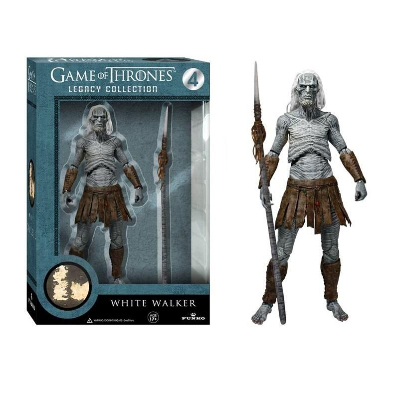 Game of Thrones Legacy Collection Official Funko Legacy White Walker with Spear